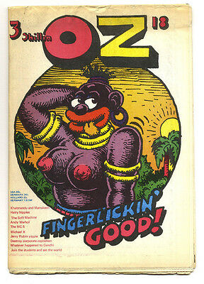 OZ Magazine No 18. (February 1969) Robert Crumb + Andy Warhol Interview
