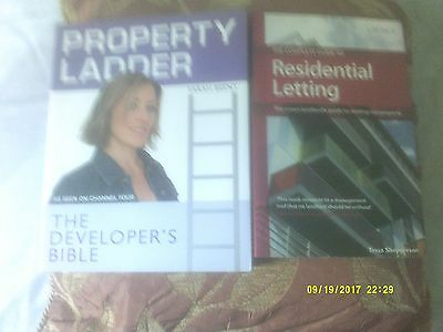 2 Books - Property Ladder & Residential Letting - Advice, Techniques, Contracts