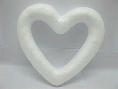100Pcs Foam Hollow Heart Decoration Craft DIY 100mm