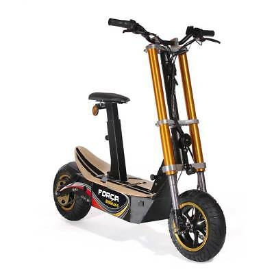 FORCA ELECTRO scooter avec immatriculation XL CHÂSSIS 1500Watt E-scooter 45km/H