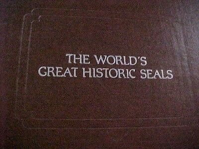 Worlds Great Historic Seals 29 Sterling Silver by Franklin Mint USA CHINA SEAL