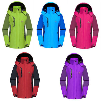 Outdoor Ski Wear Women's Jacket Windproof Waterproof Winter Sports Coat Clothing