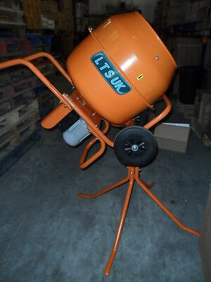 CEMENT MIXER CONCRETE MIXER WITH STAND 240 VOLT NEW 1 day  sale