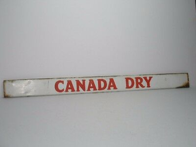 Vintage Canada Dry Tin Door Push Store Sign