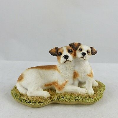 Sherratt & Simpson Jack Russell Terrier with Puppy  SS 89087