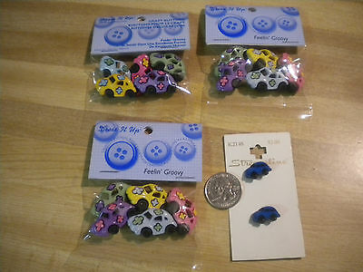VW Collectible Buttons