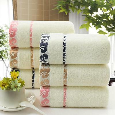 5 Pieces Cotton Towel– Bath Sheet Bath Towel Hand Towel Face Washer Bath Mat F&