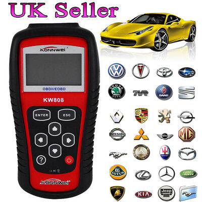 KW808 OBD2 Scanner CAN Engine Reset Tool KONNWEI Car Diagnostic Code Reader Sale