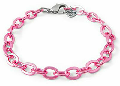 NEW Charm It - Pink Chain Link Bracelet