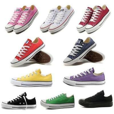 Hot Classic Women Lady ALL STARs Chuck Taylor Ox Low Top shoes Canvas Sneakers