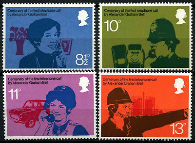 GB 1976 SG#997-1000 Telephone Centenary MNH Set #D55180