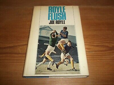 Book. Football. Royle Flush. Joe Royle. 1st 1969 HB. Everton. Free UK P&P.