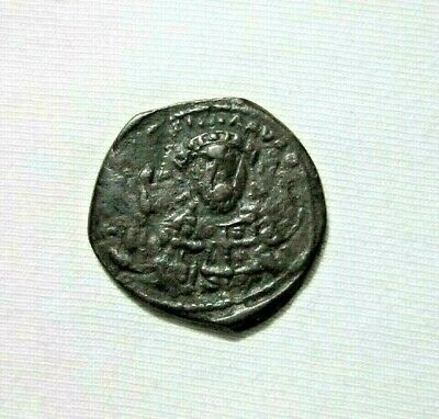 Byzantine. Bronze  Follis. Constantine X,1059-1067 Ad. Christ Facing/emperor.