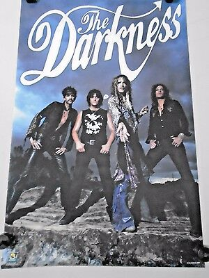 "the Darkness  Orig.Poster #1050  ""Group""  Excellent new cond. / 22 x 34 1/2"""