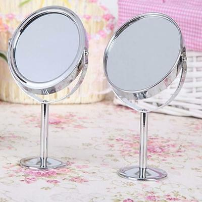 Beauty Makeup Cosmetic Mirror Double-Sided Normal and Magnifying Stand Mirror LP