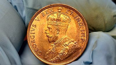 1911 Canadian Large Cent Choice/gem Brilliant Uncirculated Red !!