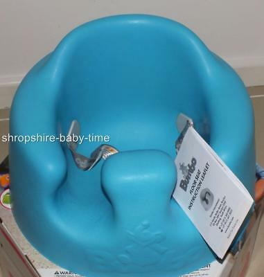 New Bumbo baby babysitter seat & play tray - Blue in colour - New in Box