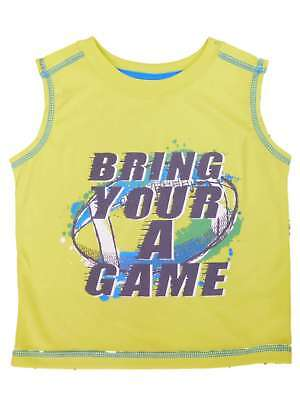 Peanut & Ollie Infant & Toddler Boys Bring Your A Game Football Tank Top