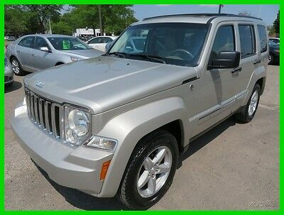 2009 Jeep Liberty Limited 4x4 2009 Limited 4x4 Used 3.7L V6 12V Automatic 4WD SUV Premium clean clear title