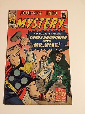 JOURNEY INTO MYSTERY #100 early THOR, KIRBY, MR HYDE, HECK, 1964