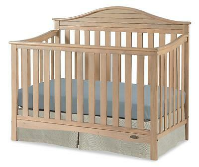 New Graco Harbor Lights 4-in-1 Convertible Crib - Driftwood Model:6C98A81A