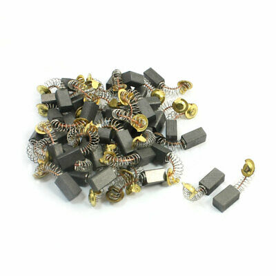 40pcs 21# Escobillas de carbón de motor 13,3x7x6mm para martillo eléctrico