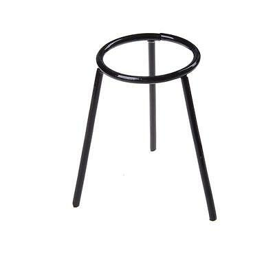 Lab Bunsen Burner/Cast Iron Support Stand/Alcohol Lamp Tripod Holder 13cmHeightS
