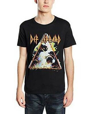 Def Leppard Hysteria Mens Small T Shirt Brand New Official Black