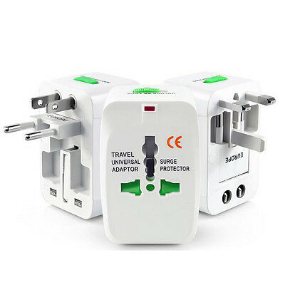 USA US UK AU To EU Europe Travel Charger Power Adapter Converter Wall Plug Home