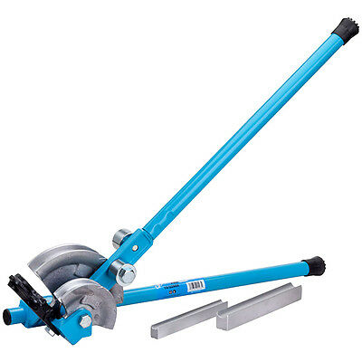 OX Plumbers Heavy Duty Professional Pipe Bender - Bends 15 & 22mm Copper Pipe