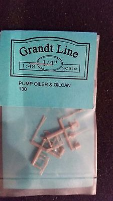 O On3 On30 narrow gauge Grandt Line Pump oiler and oil can #130