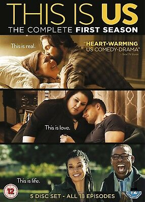 THIS IS US 1 (2016-2017): Comedy Drama TV Season Series -  NEW R2 DVD not US