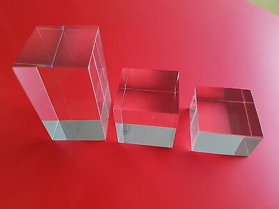 Polished Acrylic Blocks for display and shop window and more