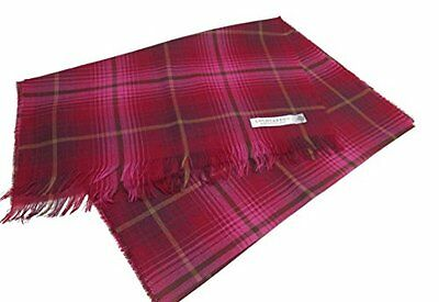 Lochcarron of Scotland Lambswool/Lycra Check Scarf **Faulty**