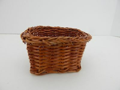 Wicker Basket Great Accessory for Byers Choice or Doll Display Scene 2