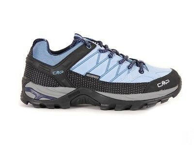 CMP Hiking shoes Hiking shoe Lace-ups blau waterproof Leather Laces