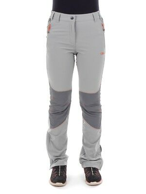 CMP multi-sporthose pantalon fonctionnel gris clair stretch protection anti-UV