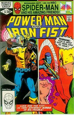 Power Man and Iron Fist # 76 (Rudy Nebres, Frank Miller) (USA,1981)