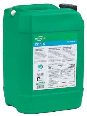 BIO-CIRCLE 53G167 Heavy Duty Cleaner Degreaser,5.3 gal.