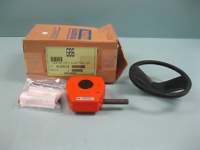 "Mastergear Hayward GB6 Gear Box for 6"" Butterfly Valve NEW D12 (2241)"