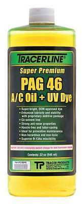 TRACERLINE TD46PQ PAG Lubricant/Dye,Fluorescent A/C,32 oz. G0071569