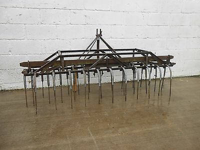 Ferguson Tractor Mounted Weeder / Game Flusher. Excellent, Original Condition