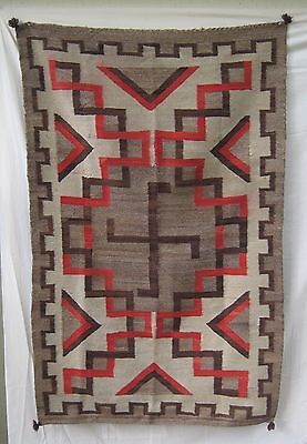 Early Regional Navajo Rug / Whirling Log   #3010