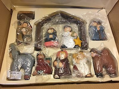 Eddie Walker Midwest Cannon Falls Childrens Christmas Pageant Nativity Complete