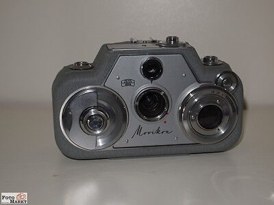 Zeiss Ikon Movikon 8 Narrow film camera (rather mint) to 1958 Collector's