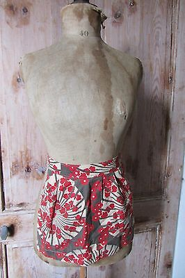 Sweetest Antique Vintage French Art Deco Child's Apron Pinny Pinafore Original