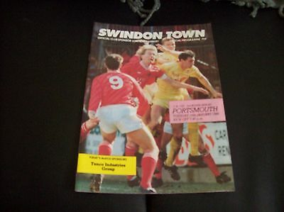 Swindon Town v Portsmouth, 1988/89 [FA]