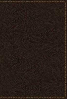 Kjv, the King James Study Bible, Bonded Leather, Brown, Indexed, Full-color Edit