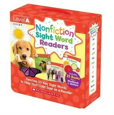 Nonfiction Sight Word Readers Parent Pack Level a: Teaches 25 Key Sight Words to
