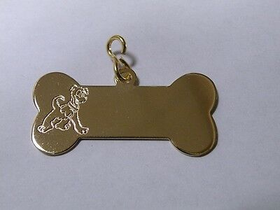Cute Disney Pluto Dog Tag.|h|